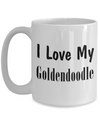 Love My Goldendoodle - 15oz Mug