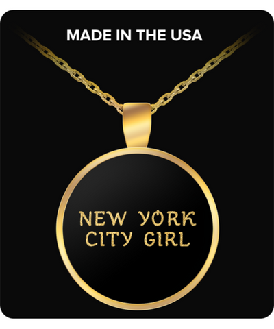 New York City Girl - Gold Plated Necklace