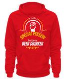 To Be a Beer Drinker - Hoodie - Unique Gifts Store