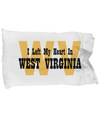 Heart In West Virginia - Pillow Case
