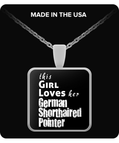 German Shorthaired Pointer - Necklace - Unique Gifts Store