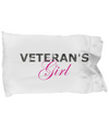 Veteran's Girl - Pillow Case