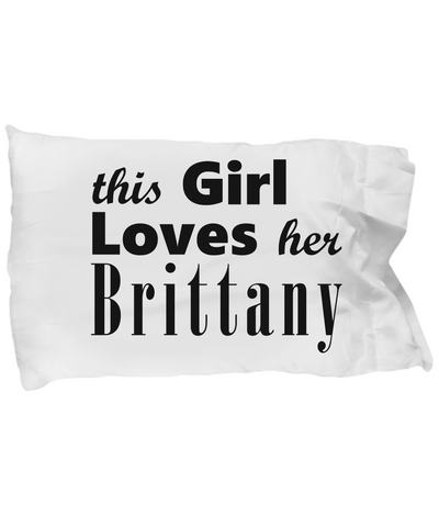 Brittany - Pillow Case 2 - Unique Gifts Store