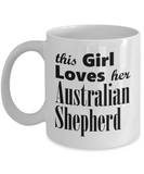 Australian Shepherd - 11oz Mug - Unique Gifts Store