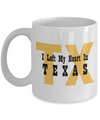 Heart In Texas - 11oz Mug - Unique Gifts Store