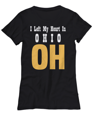 Heart In Ohio - Women's Tee