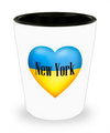 Ukrainian In New York - Shot Glass - Unique Gifts Store