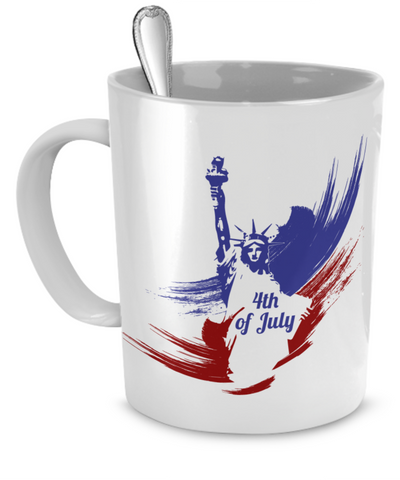 4th of July - 11oz Mug - Unique Gifts Store