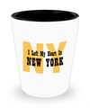 Heart In New York - Shot Glass
