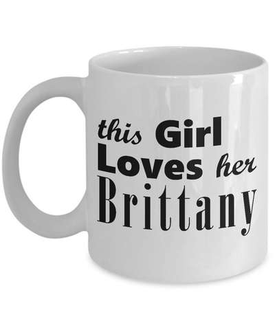 Brittany - 11oz Mug 2 - Unique Gifts Store