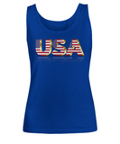 The USA - Women's Tank Top - Unique Gifts Store