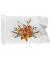 Tiger Lily Bouquet v2 - Pillow Case - Unique Gifts Store