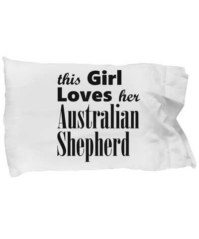 Australian Shepherd - Pillow Case