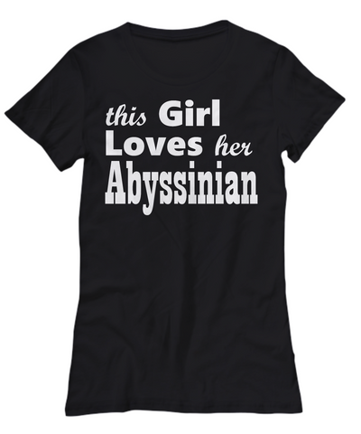 Abyssinian - Women's Tee - Unique Gifts Store