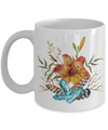Tiger Lily Bouquet - 11oz Mug - Unique Gifts Store