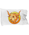 Zodiac Sign Taurus - Pillow Case - Unique Gifts Store