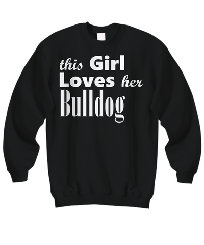Bulldog - Sweatshirt - Unique Gifts Store