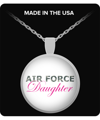 Air Force Daughter - Necklace - Unique Gifts Store