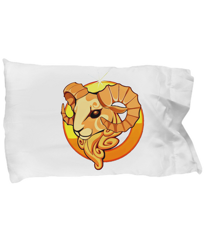 Zodiac Sign Aries - Pillow Case
