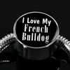 Love My French Bulldog - Luxury Charm Bracelet
