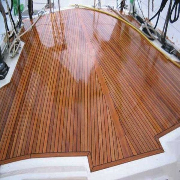 Can I use epoxy resin on a boat deck?