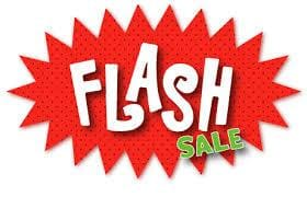 Flash Sale!!! Save 25% off all items!!!