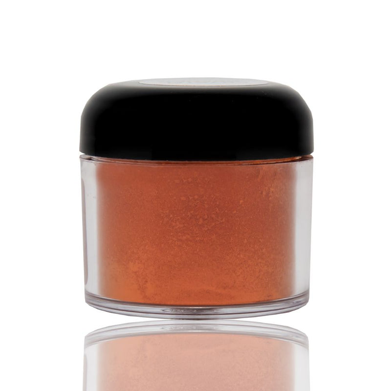 Crystal orange powdered pigment