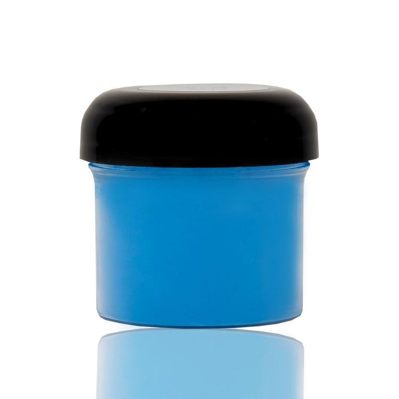 Flo blue powdered pigment