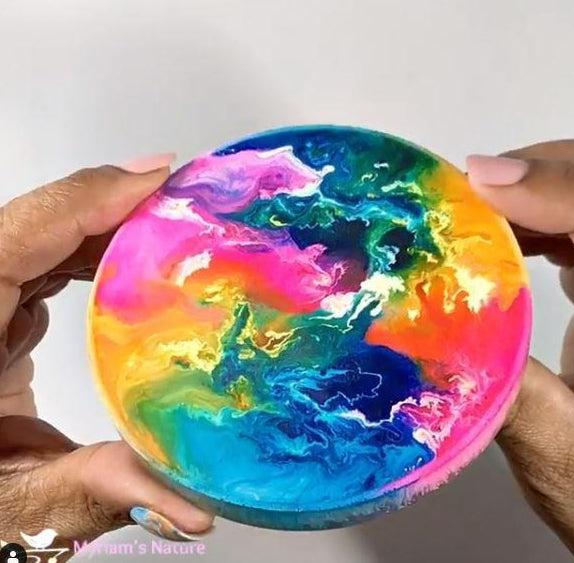 Alcohol ink vibrant colors pinata by Jaquard - The Epoxy Resin Store