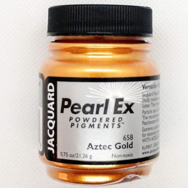 Aztec Gold Pearl Ex Powdered Pigments by Jacquard - Aztec Gold - Mica Powder - The Epoxy Resin Store