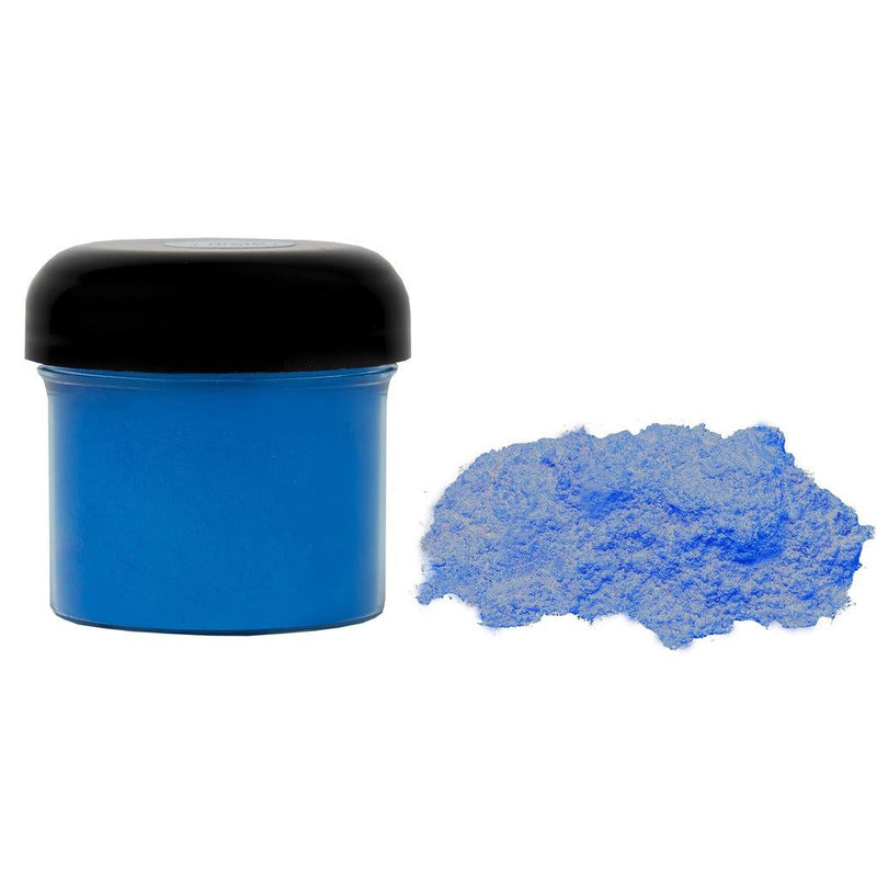 Cobalt blue powdered pigment