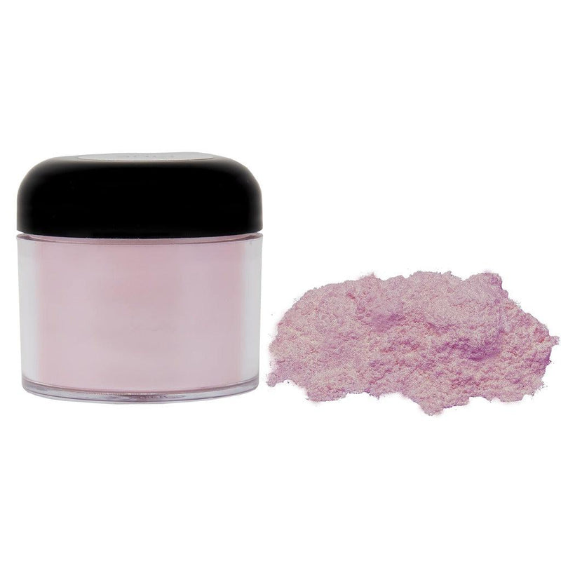 Pink powdered pigment