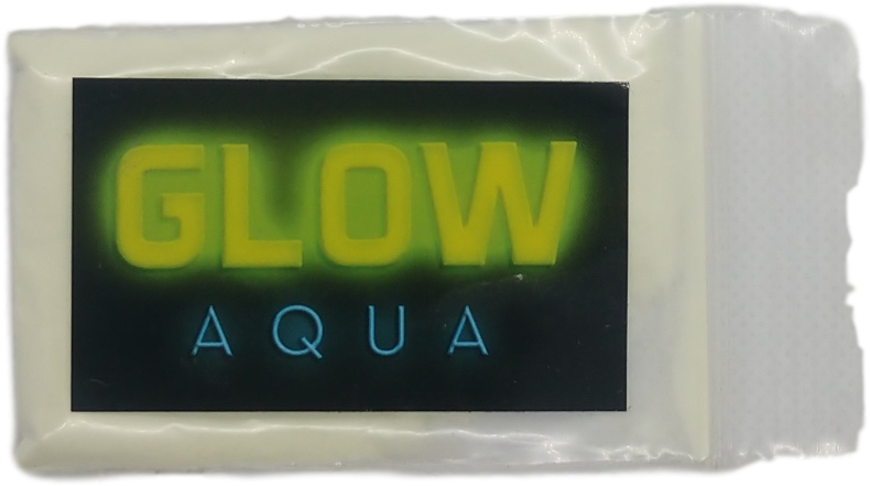 Aqua Glow in The Dark Powder - 10 grams - Pigment Glow Powder - The Epoxy Resin Store