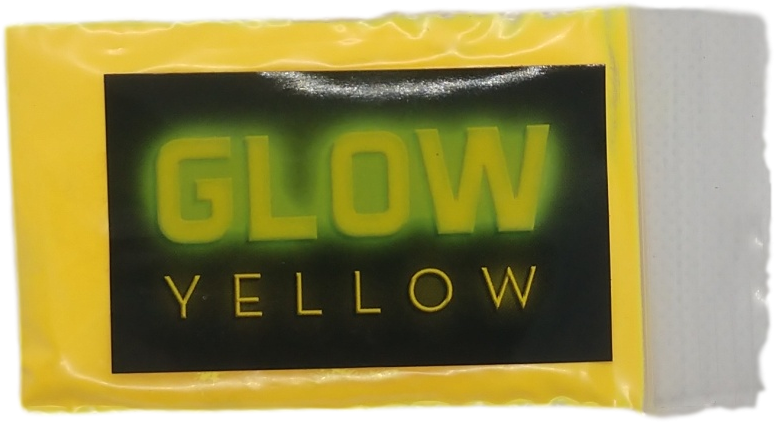 Yellow glow powder for epoxy resin - 10 grams - Pigment Glow Powder - The Epoxy Resin Store