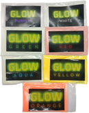 glow powders kit for epoxy resin - Green White Purple Red Yellow Aqua Orange