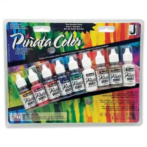 Pinata Colored Ink Exciter Pack - Overtones Pack - Pinata Color Overtones Exciter Pack JAC9918 - Alcohol Dye - The Epoxy Resin Store