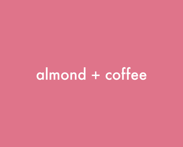 Almond + Coffee | Coffee Scrub