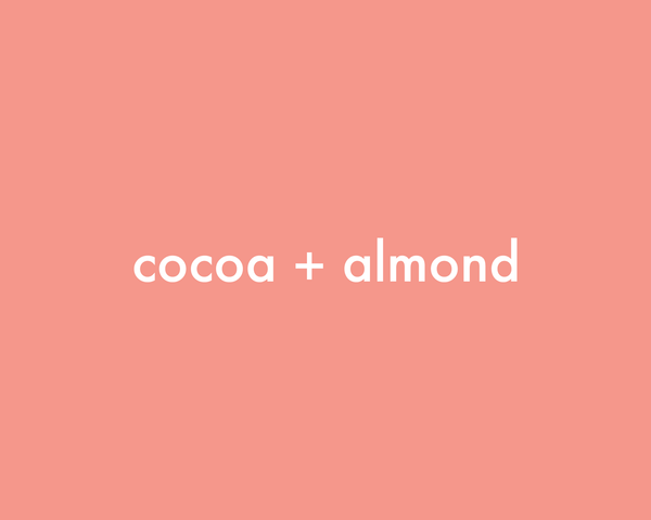 Cocoa + Almond | Coffee Scrub