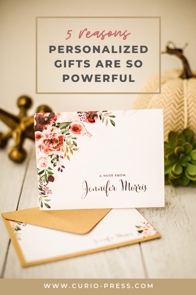 5 Reasons Personalized Gifts Are So Powerful