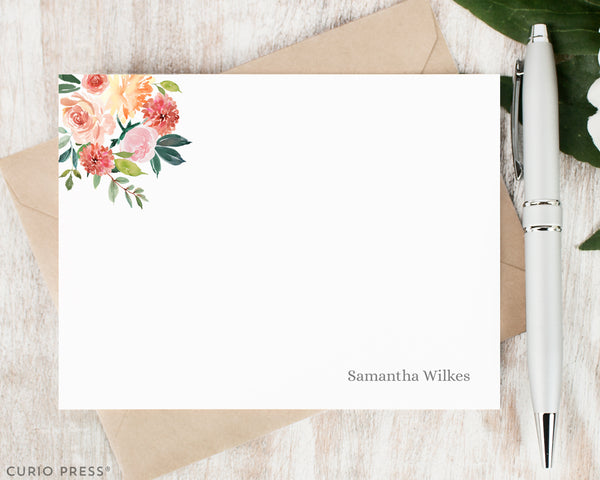 Bella Blooms: Flat Card Set - Curio Press