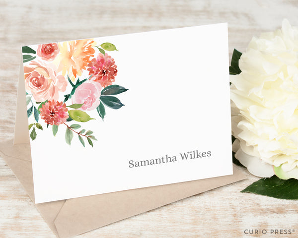 Bella Blooms: Folded Card Set - Curio Press
