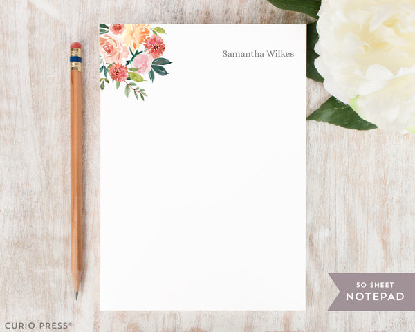 Bella Blooms: Notepad - Curio Press