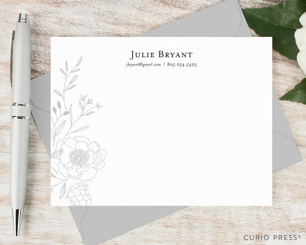 Botanical: Flat Card Set - Curio Press