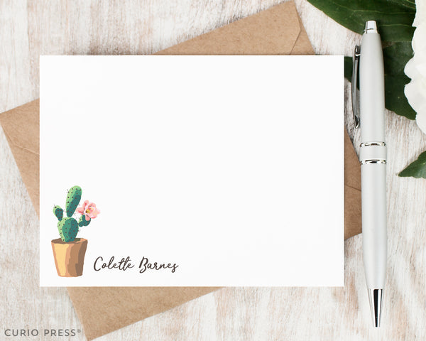 Cactus: Flat Card Set - Curio Press