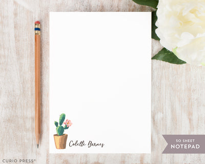 Cactus: Notepad - Curio Press