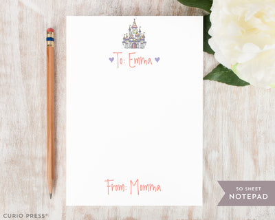 Castle: Lunch Notes Pad - Curio Press