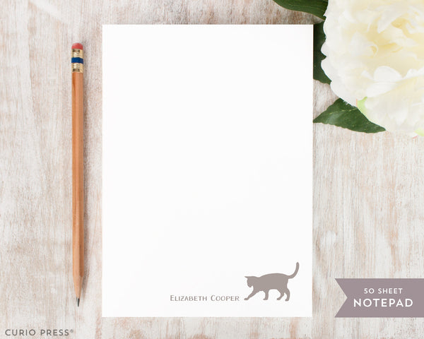 Cat: Notepad - Curio Press