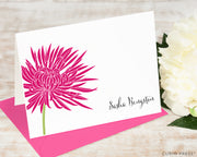 Chrysanthemum Solid: Folded Card Set - Curio Press