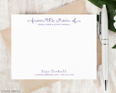 Classy Mom: Flat Card Set - Curio Press