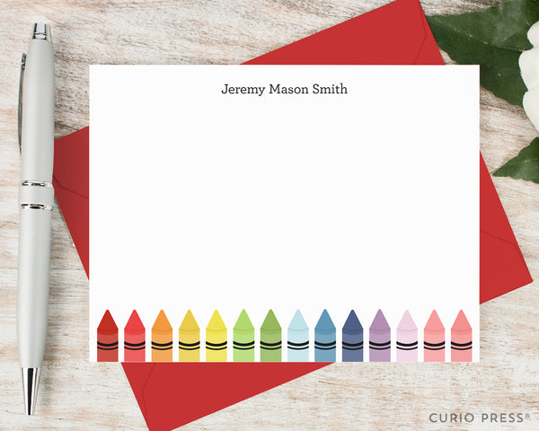 Crayons: Flat Card Set - Curio Press